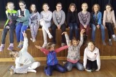 Mädchengruppe
